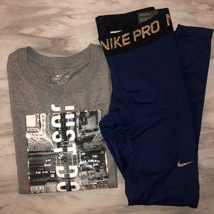 Nike matching set